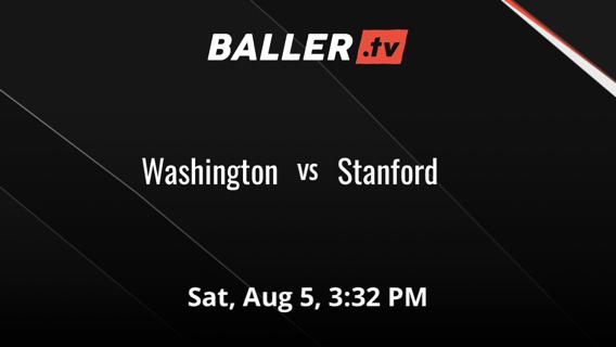 Washington vs Stanford