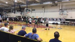 Bishop Shanahan  triumphant over Winslow Twp., 43-37