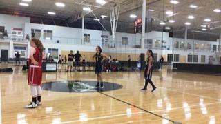 TT Elite 9 Hackett picks up the 64-56 win against Mid Atlantic Heat D Prescott