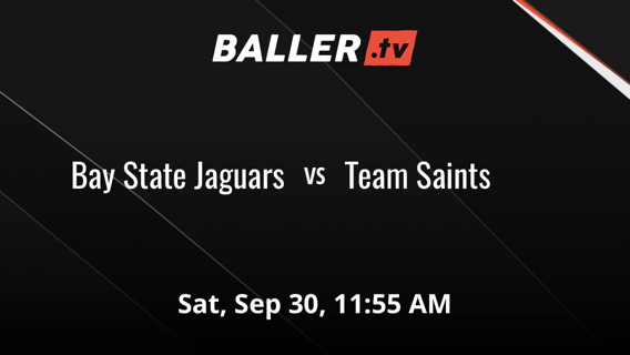 Team Saints defeats Bay State Jaguars, 41-33