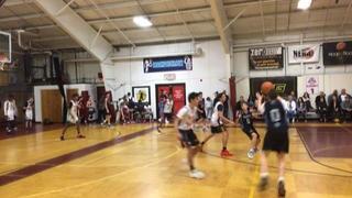 NE Playaz Academy Black gets the victory over Team Saints, 84-45