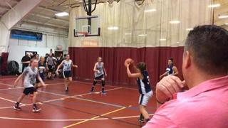 Massasoit Warriors with a win over Boston Lady Stars, 32-27