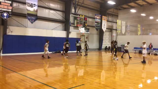 NS Bay State Jaguars Yellow 52 Brockton Reign Elite 22