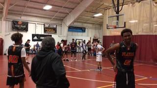 NE Playaz Academy Black defeats AASA - Lou, 56-35