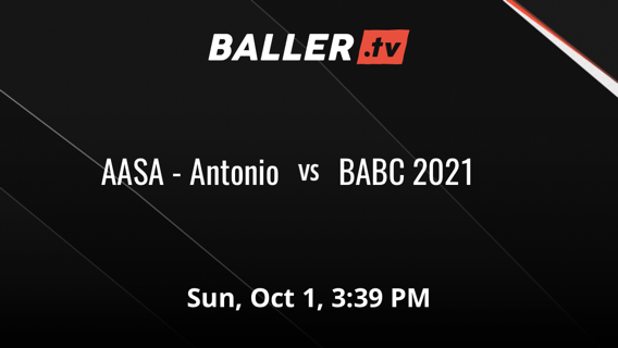 Things end all tied up between AASA - Antonio and BABC 2021