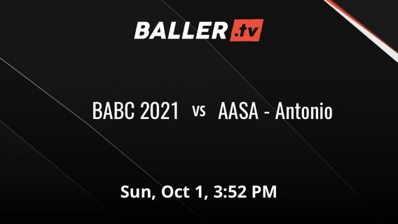 Things end all tied up between BABC 2021 and AASA - Antonio