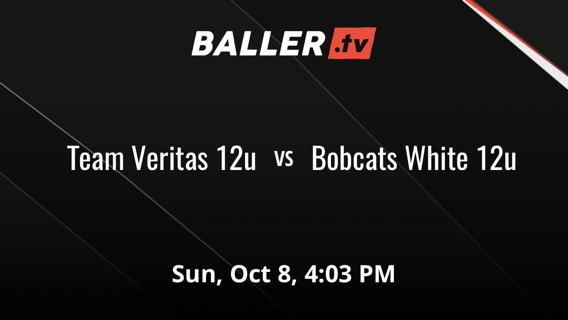 Team Veritas 12u gets the victory over Bobcats White 12u, 48-20