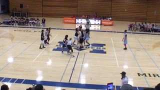 8th Grade White defeats 8th Grade Black, 47-38