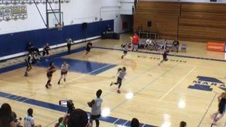 12th Grade Black with a win over 12th Grade White, 45-42