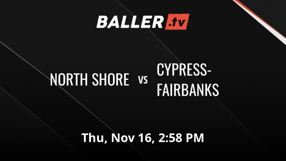NORTH SHORE defeats CYPRESS-FAIRBANKS, 48-44