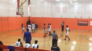 Boo Williams (Chamblee) with a win over Team CP3, 59-53