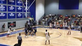 Houston Yates HS gets the victory over Fort Worth O.D Wyatt HS, 77-48