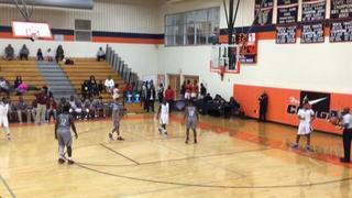 VICTORY CHRISTIAN SCHOOL getting it done in win over WEST MECKLENBURG HIGH, 60-50