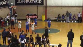 Jersey City Boys and Girls Club (Blue) defeats Fidonce Basketball, 49-46