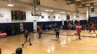 Charles County Warriors with a win over Lady Prime, 57-46