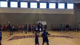 Layton Christian (UT) getting it done in win over C.I. Gibson (Bahamas), 69-64