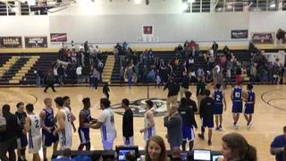 Blue Ridge Barons defeats Teays Valley Christian Lions, 63-58