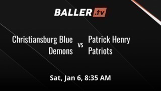 It's a wash between Christiansburg Blue Demons and Patrick Henry Patriots