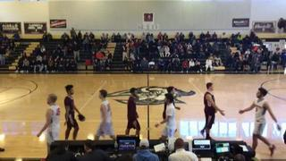 George Wythe Maroons wins 94-89 over Giles Spartans