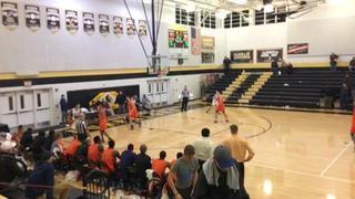 Massanutten Colonels gets the victory over Hargrave Military Academy Tigers, 97-85