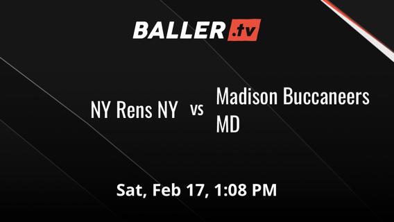 NY Rens NY vs Madison Buccaneers MD