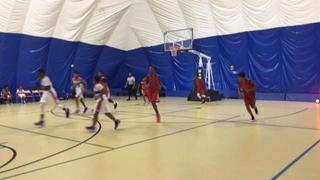 Dream Chasers United VA puts down Team Thrill - Red MD with the 64-42 victory