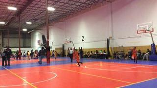NY Lightning with a win over Bowie Bulldogs MD, 39-26