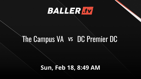 The Campus VA vs DC Premier DC