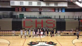 Team Nikos (Elite) getting it done in win over Clackamas Cavs (Hicks), 59-36