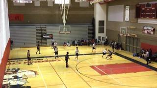 AZ Storm (Black) steps up for 67-36 win over Canby Cougars (Taylor)