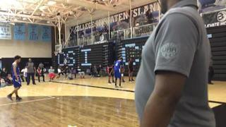 We R 1 Blue (PA) puts down Next Level Jayhawks (NY) with the 55-53 victory