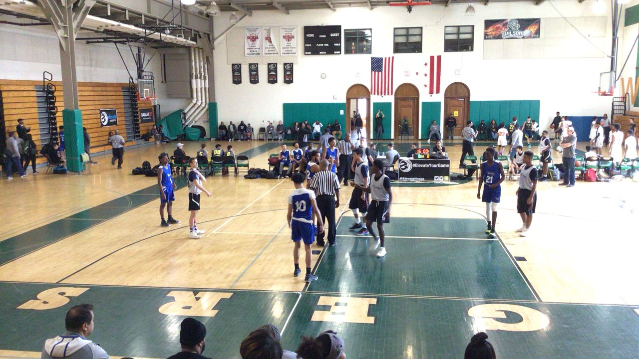 It's a wash between We R 1 Blue (PA) and Team Rio National (NJ), 57-53