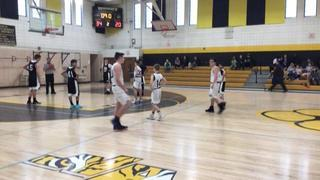 BSA 7th8th Boys - ChapmanMcKlveen steps up for 34-20 win over BSA 7th Boys - Nee
