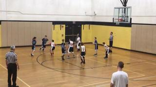 Fayettes Finest 5th Boys with a win over PA Elite 5th Boys Green - Plazz, 35-13