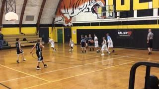 Laurel Highlands Storm 5th Boys emerges victorious in matchup against PA Elite 5th Boys Green - Plazz, 64-11