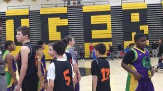 Caveman Maddalon 5th Boys wins 33-30 over Buffalo Elite 5th Boys