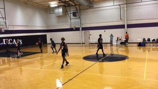 Things end all tied up between Hou Defenders Black 14u and Hyperfuse 14u