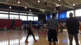 Playaz Academy with a win over Sean Kilpatrick SK Elite, 45-27