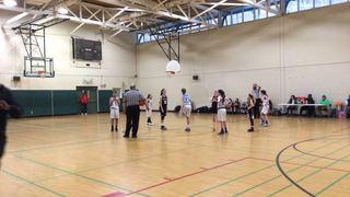 Advanced Hoops B defeats WV Run N Gun, 40-11