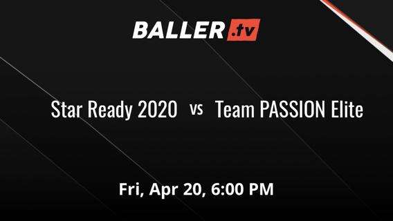 Star Ready 2020 vs Team PASSION Elite