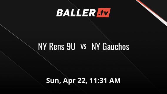 NY Rens 9U vs NY Gauchos