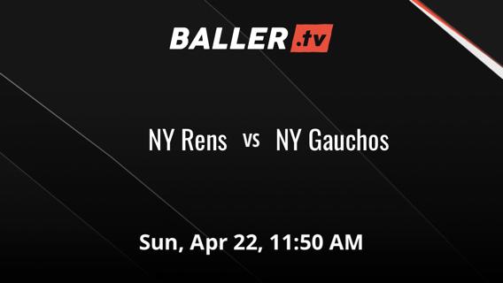 NY Rens vs NY Gauchos