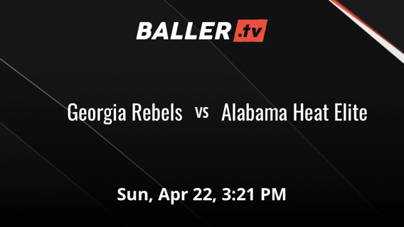 Georgia Rebels vs Alabama Heat Elite