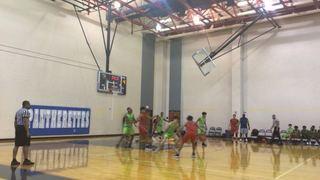 Shadow Creek Shooting Stars 17U picks up the 58-54 win against No Excuses Elite