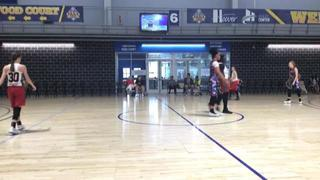 Alabama Cardinal defeats FBC�Hoopstars�Black, 34-30