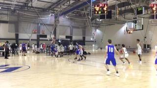 Charlotte Court 15U - Nimbo wins 60-56 over Knoxville, Free Agents
