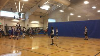Lincoln Park Panthers with a win over PEACE 7th Grade Boys, 88-25