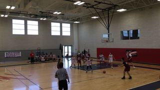 LV Supreme Girls RED vs LMBA Desert Knights Maroon
