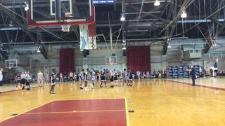 Valley Thunder with a win over Syracuse Hoopstars, 57-50