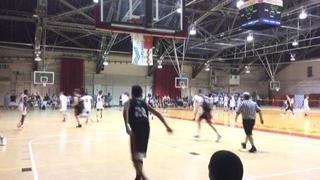 City Rocks-14 Black defeats NY Extreme Hoops, 68-23